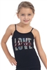"Kids Rhinestone and Sequin ""Love Dance"" Boy Dance Shorts - You Go Girl Dancewear"