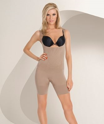 43761cd8944a6 Julie France Plus Size Frontless Body Shaper by Eurotard - You Go Girl  Dancewear