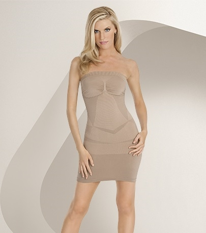 4645e51c8dd70 Julie France Strapless Dress Shaper by Eurotard - You Go Girl Dancewear