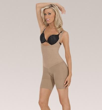 80deee442a0 Julie France Plus Size Leger Front Body Shaper by Eurotard - You Go Girl  Dancewear