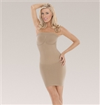 Julie France Plus Size Leger Strapless Dress Shaper by Eurotard - You Go Girl Dancewear