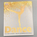 Dance Large Hardcover Book   - You Go Girl Dancewear