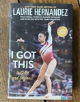 To Gold And Beyond-I Got This Hardcover Book - Laurie Hernandez   - You Go Girl Dancewear