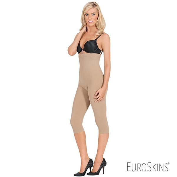 a865356d430 EuroSkins Seamless Plus Size High Waist Capri Shaper by Eurotard - You Go  Girl Dancewear