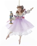 Nutcracker Dancing Clara Ornament - You Go Girl Dancewear