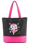 Sassi Designs LAM-01 Lindsay Lamb Small Tote - You Go Girl Dancewear