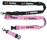 I Love Dance Lanyard Keychain - You Go Girl Dancewear