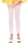 Girls' Footless Tights with lace trim- You Go Girl Dancewear