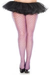 Adult Plus Size Fishnet Seamless Diamond Net Pantyhose