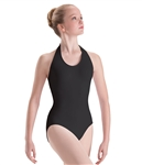Motionwear Womens Plus Size Pullover Halter Leotard