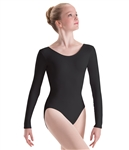 Motionwear Plus Size Long Sleeve Dance Leotard