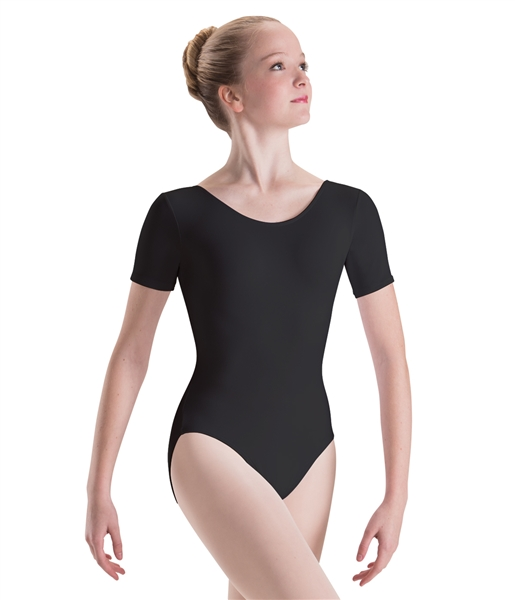 f7965ff7c7d9 Motionwear Child Short Sleeve Dance Leotard - You Go Girl Dancewear!