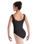 Motionwear Womens Plus Size Boatneck Dance Leotard