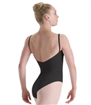 Motionwear WomensClassic with Removable Padded Cups Camisole Leotard
