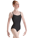 Motionwear Womens Plus Size Camisole Leotard w/ V-Back Straps