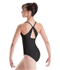 Motionwear Long Torso Drape Back Camisole Leotard