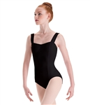 Motionwear Womens Plus Size Wide Strap Princess Seam Leotard