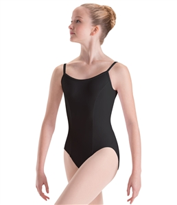Motionwear  Adult Long Torso Princess Seam Camisole Leotard