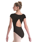 Motionwear Cap Sleeve w/ Wrap Back DanceFlex Leotard