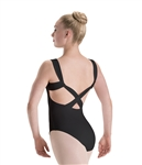 Motionwear Wide Strap X-Back DanceFlex Leotard