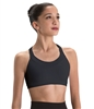 Motionwear Child Wide V-Neck Halter 3 Strap Back Bra Top