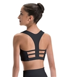Motionwear Adult Racerback w/ 3 Strap Back Bra Top