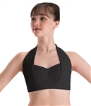 Motionwear Adult Overlay Halter Bra Top