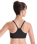 Motionwear Womens Plus Size Racerback Camisole Bra Top