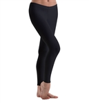 Motionwear Womens Plus Size Lower Rise Leggings