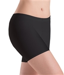 Motionwear Womens Plus Size Lower-Rise Bike Shorts