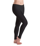 Motionwear Womens Plus Size Flat Waist Leggings
