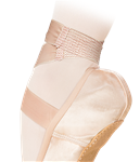 Nikolay Grishko Satin ribbon with pre-sewn mesh elastic - You Go Girl Dancewear