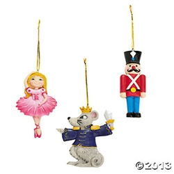 Nutcracker Ornaments set of 3 - You Go Girl! Dancewear - You Go Girl Dancewear