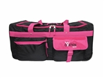Ovation Large Black & Hot Pink Performance Dance Bag with Rack