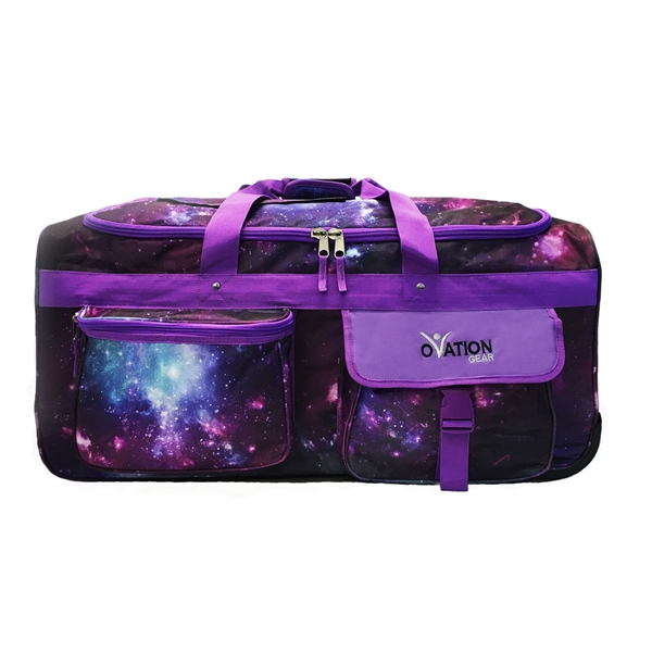 New Ovation Gear Large Galaxy Performance Dance Bag With Rack Usb