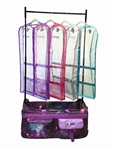Ovation See Thru Gusseted Competition Garment Bag with Mesh Trim - You Go Girl Dancewear