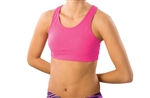 Pizzazz Adult MVP Sports Bra with Racer Back Design - 1213 - You Go Girl Dancewear