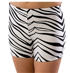Pizzazz Child Animal Print Boy Cut Shorts	- 2100AP - You Go Girl Dancewear