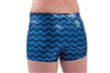 Pizzazz Youth Chevron Metallic Boy Cut Dance Brief - You Go Girl Dancewear