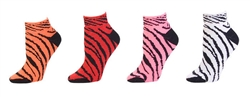 Pizzazz Zebra Print Sock - 7090AP - You Go Girl Dancewear