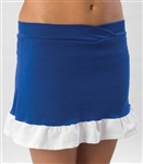 Pizzazz Adult Body Basics Ruffled Skirt with Boys Cut Brief - 7200 - You Go Girl Dancewear