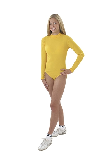 2ea78a19d4 Pizzazz Long Sleeve Child Turtleneck Leotard - 8500 - You Go Girl Dancewear