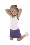 Pizzazz Youth MVP Racer Back Top with Trim - 9700T - You Go Girl Dancewear