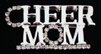 Cheer Mom Rhinestone Pin - You Go Girl Dancewear - You Go Girl Dancewear