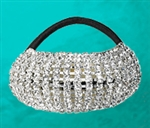 Flexible Rhinestone Ponytail Holder - You Go Girl Dancewear