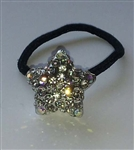Rhinestone Ponytail Holder - Star - You Go Girl Dancewear