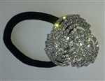 Rhinestone Ponytail Holder - Swirl - You Go Girl Dancewear