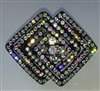 Rhinestone Ponytail Holder - Geometric - You Go Girl Dancewear
