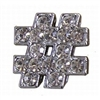 Rhinestone Number Sign - You Go Girl Dancewear