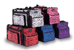 Pizzazz Zebra Print Duffle Bag - B200AP - You Go Girl Dancewear